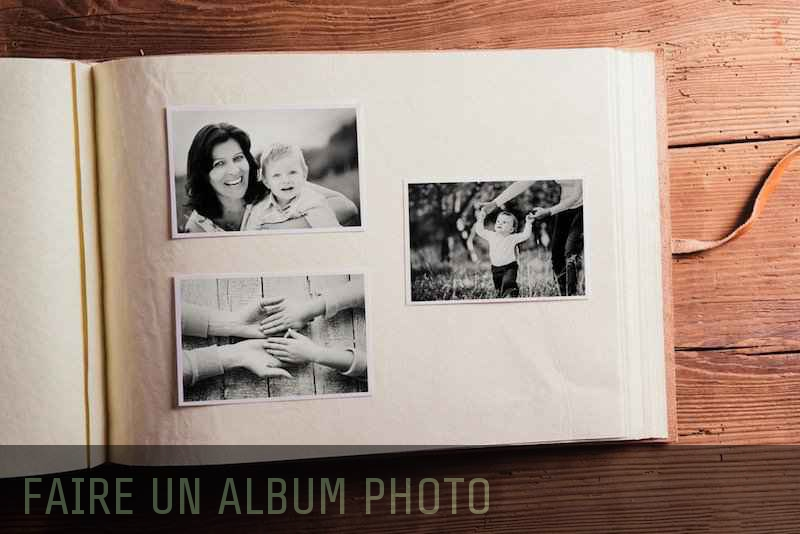 Album photo à personnaliser